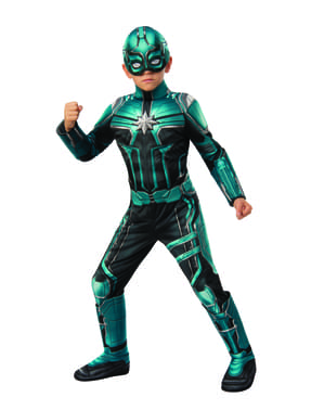 Deluxe Yon Rogg costume for boys - Captain Marvel