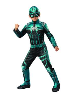 Deluxe Yon Rogg kostým pre chlapcov - Captain Marvel