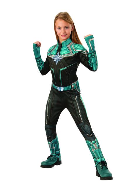 Disfraz de Kree deluxe para niña - Capitana Marvel