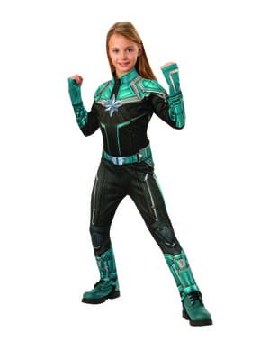 Strój deluxe Kree dla dziewczynek - Kapitan Marvel