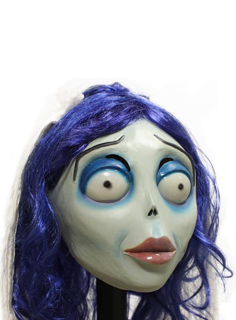 Máscara Emily de La Novia Cadáver classic de látex - para tu disfraz