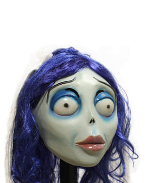 Класична латексна маска Емілі Corpse Bride