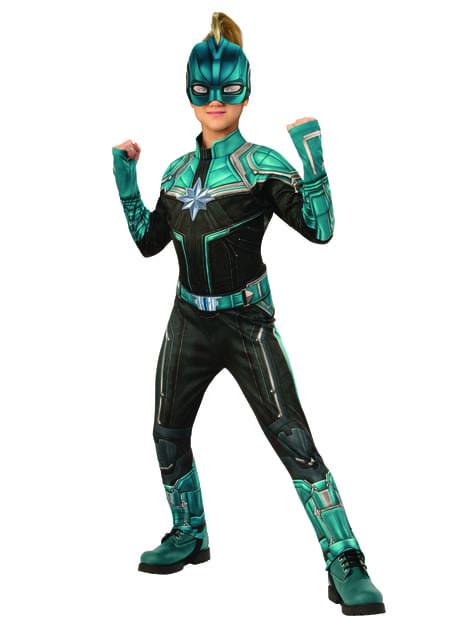 Disfraz de Kree deluxe para niña - Capitana Marvel - niña
