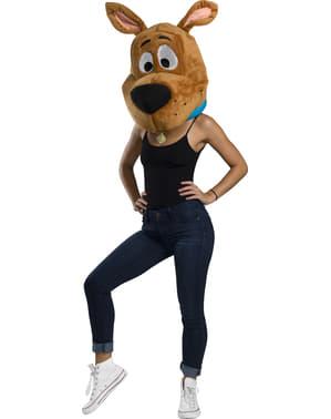 Kæmpe Scooby Doo maske til voksne