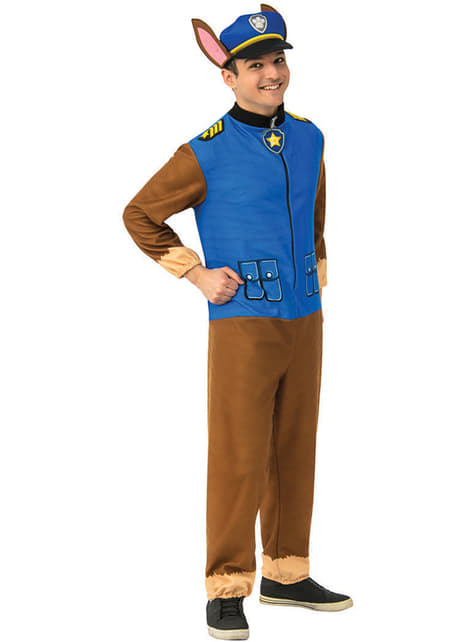 Chase Costume for Men - Paw Patrol