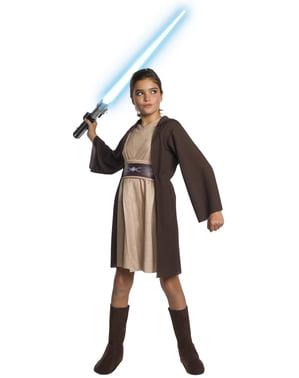 Kostum Jedi Deluxe untuk Anak Perempuan - Star Wars