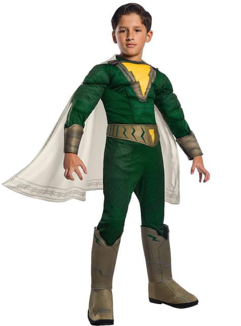 Deluxe Shazam Pedro costume for boys