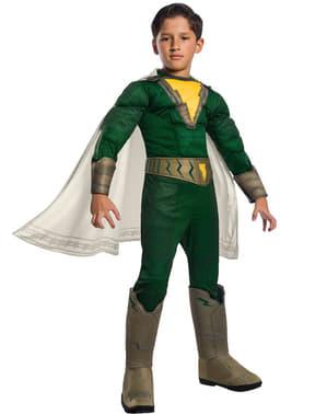 Disfraz de Shazam Pedro deluxe para niño