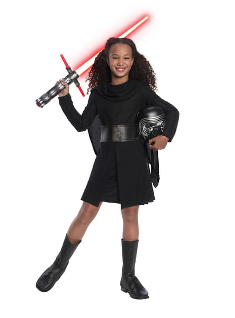 Strój deluxe Kylo Ren dla dziewczynek - Star Wars
