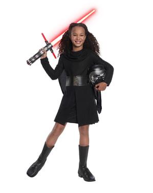 Fato de Kylo Ren deluxe para menina  Star Wars
