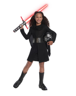 Kylo Ren Deluxe Costume for Girls - Star Wars