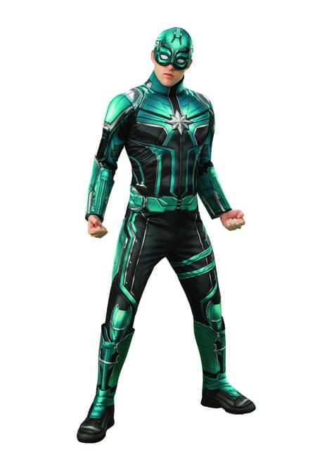 Fato de Yon Rogg deluxe para adulto - Captain Marvel