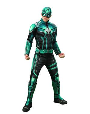Strój deluxe Yon Rogg dla dorosłych - Kapitan Marvel