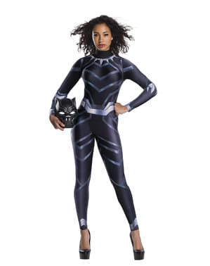 Maskeraddräkt Black Panther dam