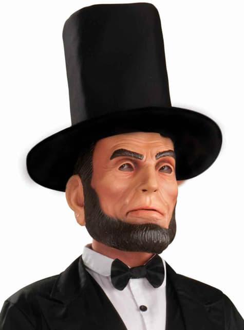 Abraham Lincoln Latex-Maske