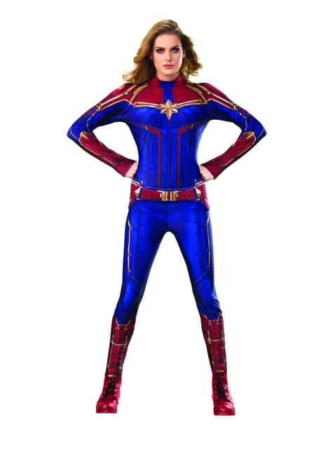 Disfraz de Capitana Marvel classsic para mujer