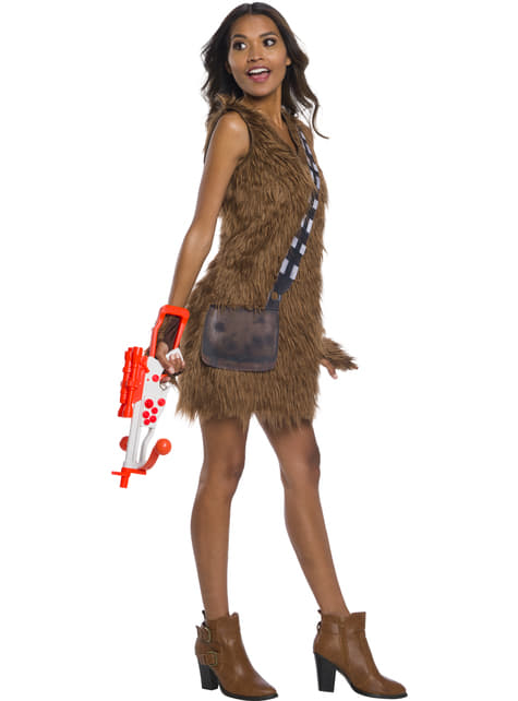 Chewbacca Kostüm classic für Damen - Star Wars