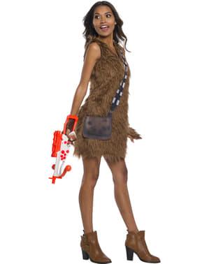 Chewbacca klassisk kostume til kvinder - Star Wars