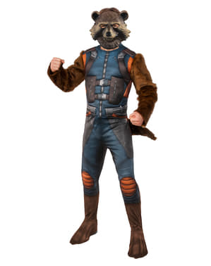 Deluxe Rocket Raccoon kostuum voor mannen - The Avengers