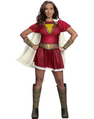 Deluxe Shazam Mary costume for women