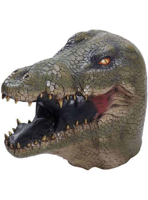 Máscara de caimán de látex
