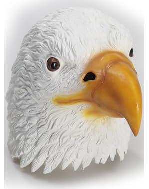 Máscara de águia americana em látex