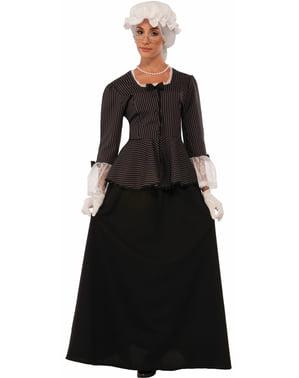 Fato de Martha Washington para mulher
