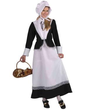 Pilgrim Kostyme for Dame