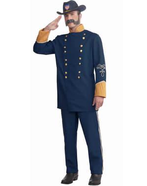 Disfraz de oficial de La Unión para hombre talla grande