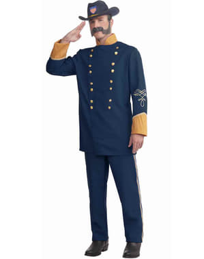 Mens Plus Size Union Officer Costume