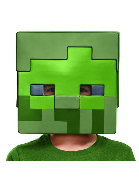 Máscara Minecraft Zombie infantil