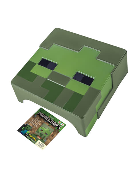 Máscara Minecraft Zombie infantil - original