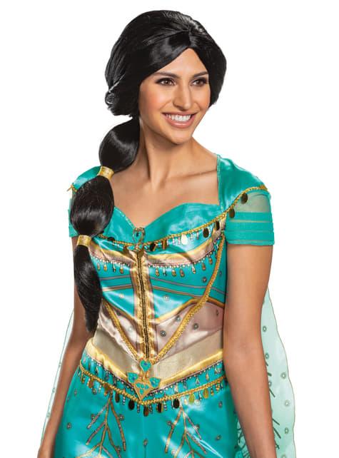 Peluca de Jasmine para mujer - Aladdín