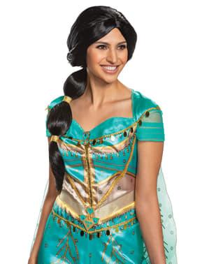 Jasmine pruik voor vrouw - Aladdin