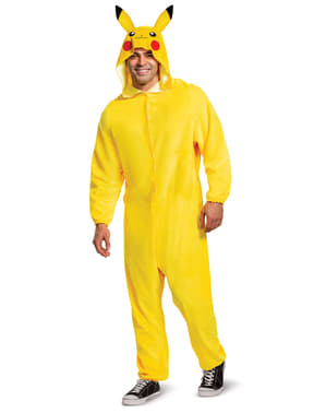Pikachu Onesie Costume for Men - Pokemon