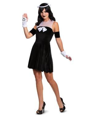 Alice the Angel Costume untuk Wanita - Bendy dan Mesin Tinta