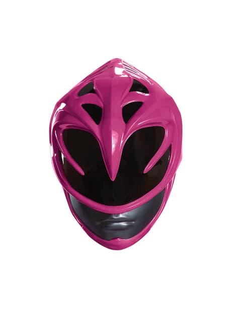 Casco Power Rangers rosa para mujer - para tu disfraz