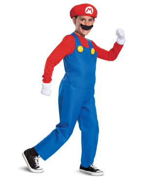 Prestige Mario Bros Costume for Boys