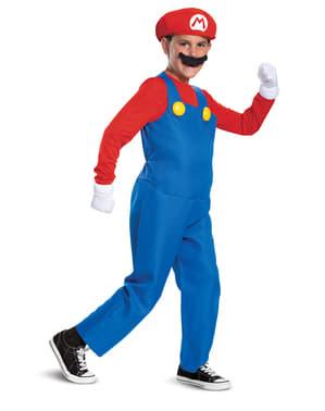 Mario Bros Kostüm Prestige für Jungen