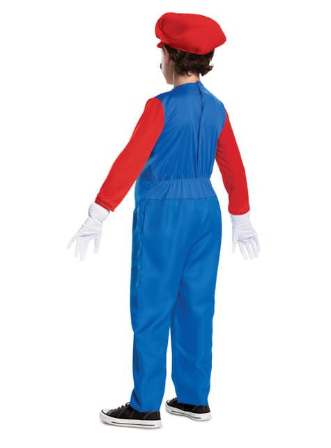 Disfraz de Mario Bros Prestige para niño  - infantil