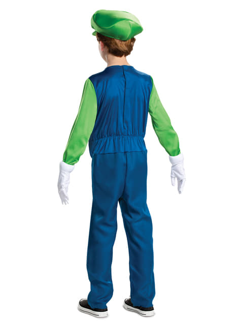 Disfraz de Luigi Prestige para niño - Super Mario Bros  - infantil