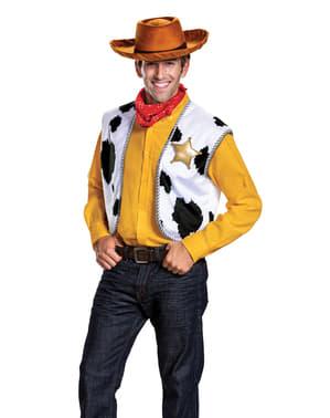 Maskeraddräkt Woody Deluxe vuxen - Toy Story 4