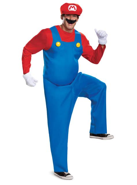Prestige Mario Bros kostuum voor mannen