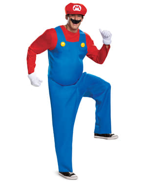 Prestige Mario Bros jelmez Férfiaknak