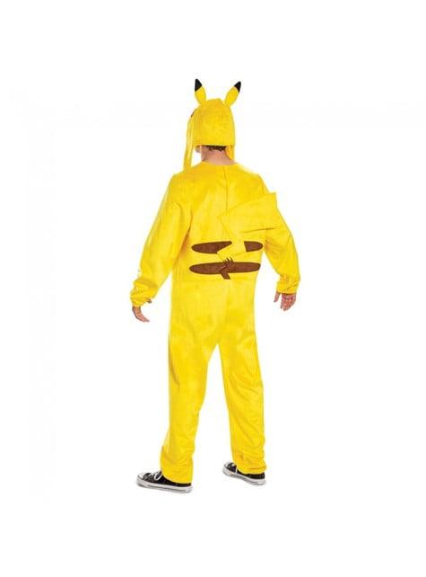 Disfraz de Pikachu Deluxe para hombre - Pokemon - adulto