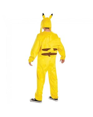Fato de Pikachu Deluxe para homem - Pokemon