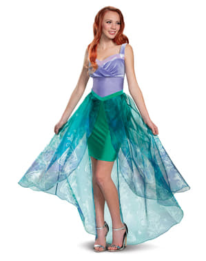 Ariel Deluxe Kostyme til Dame - Lille Havfrue