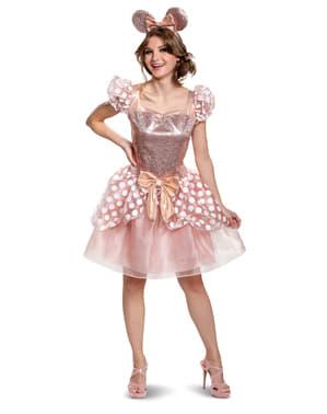 Disfraz de Minnie Mouse Deluxe para mujer