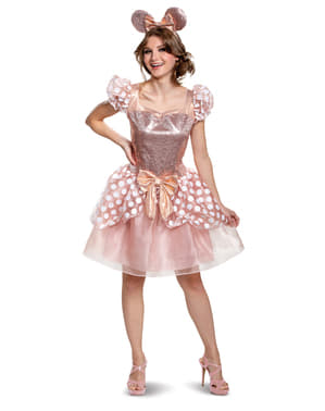 Minnie Mouse Deluxe Costume for Women - Disney
