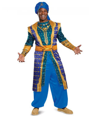 Genie from the lamp deluxe costume for men - Aladdín